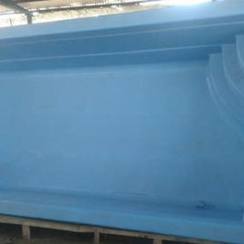 Piscina Rectangular 6 x 2,7 Prof. 1,25