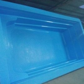 Piscina Rectangular 5,5 x 3 Prof. (1 a 1,5)