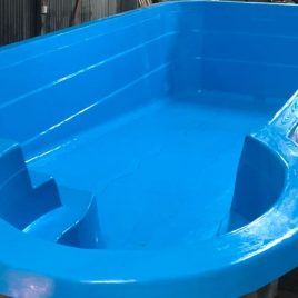 Piscina SPA 7,4 x 3,4 Prof. (1,1 a 1,6)